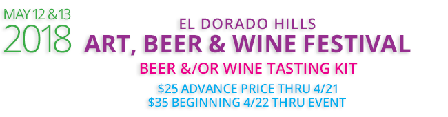 El Dorado Hills 2018 Art Wine, Beer & Art Festival